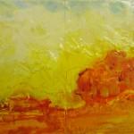 Lemon yellow Haze,45x30cm,oil on canvas board,2008