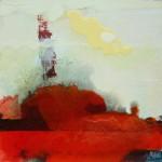Red Dawn,oil on board, 30x30cm, 2009