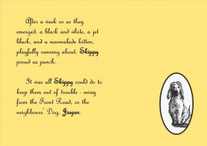 Skippy's Tale - Jasper, excerpt from book in development