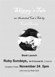 Skippy's Tale Ruby Sunday launch poster